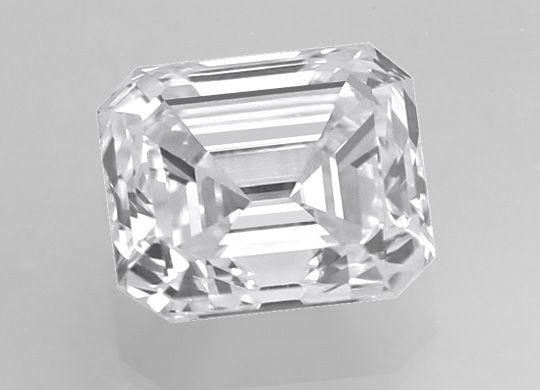 Foto 3, Diamant 0,40 Carat Emerald Cut River VVS1 IGI Expertise, D6443