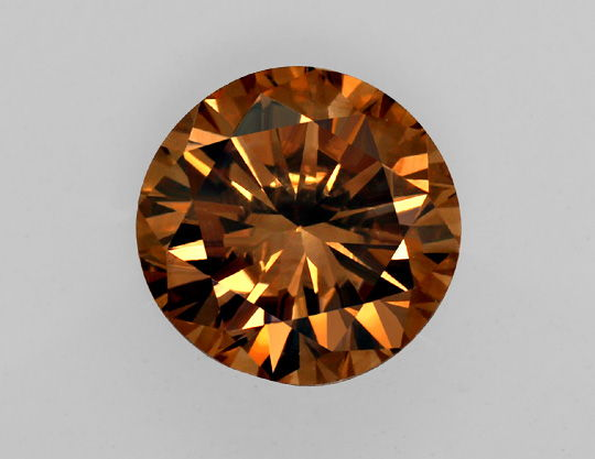 Foto 2 - 1,92 Carat Brillant IGI Natural Fancy Orange Brown VVS1, D6452