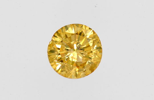 Foto 2, Sensations Orange Brilliant 0,21 ct IGI Greenish Orange, D6455