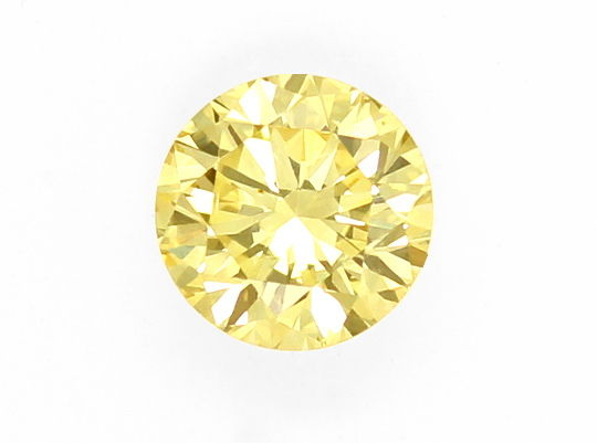 Foto 2, 1,15ct Diamant Lupenrein, Natural Fancy Yellow Laut IGI, D6459