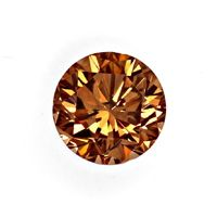 zum Artikel 1,04 ct Brilliant Fancy Intense Yellowish Brown SI2 HRD, D6465