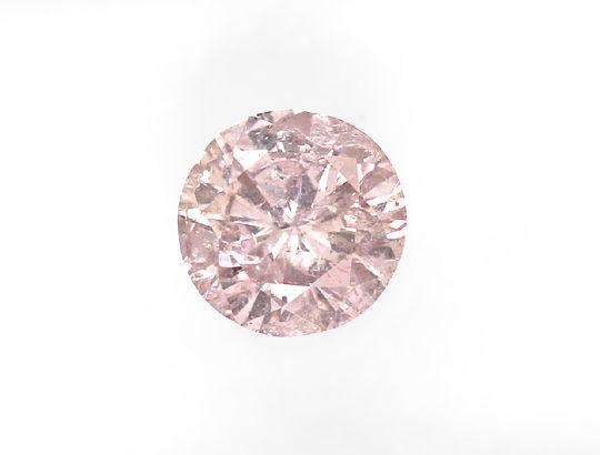 Foto 2, 0,39 Carat Brillant in Begehrtem Pink P3 IGI Zertifikat, D6490