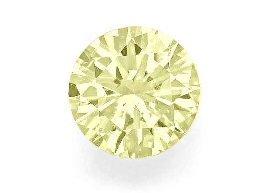 Foto 2, Riesiger Brillant 2,06ct Top Fancy Light Yellow VVS IGI, D6527