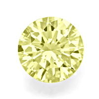zum Artikel Riesiger Brillant 2,06ct Top Fancy Light Yellow VVS IGI, D6527