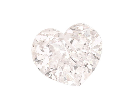 Foto 2 - Herz Diamant 0,65 Carat Fancy Light Yellowish Pink, HRD, D6530