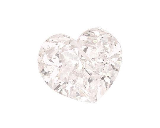 Foto 2, Herz Diamant 0,65 Carat Fancy Light Yellowish Pink, HRD, D6530