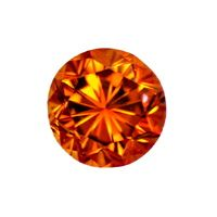 zum Artikel Brillant 0,56 Sensationell Fancy Deep Orange Cognac IGI, D6532