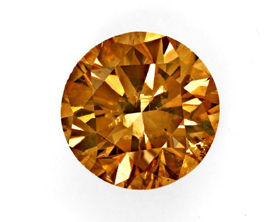 Foto 2, Brillant 2,22 Carat Fancy Deep Brown SI1 IGI Zertifikat, D6542