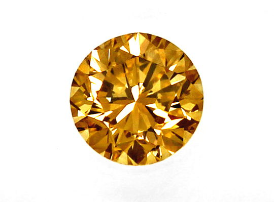 Foto 2, 2,00ct Brilliant HRD Fancy Intense Yellowish Brown VVS2, D6543