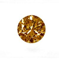 zum Artikel 2,00ct Brilliant HRD Fancy Intense Yellowish Brown VVS2, D6543