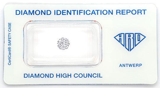 Foto 1, Diamant 0,77ct Brilliant HRD VVS River Hochfeines Weiss, D6550