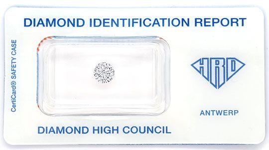 Foto 1, Diamant 0,71 ct Brillant HRD VVS River Hochfeines Weiss, D6552