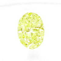 zum Artikel Diamant 1,65ct Fancy Intense Lime Yellow Green Oval IGI, D6562