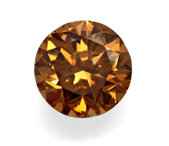 Foto 2, 1,10ct Brilliant Fancy Brown, Kräftige Bronze-Farbe IGI, D6564