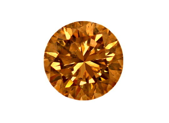 Foto 2, Brillant 0,50ct Natural Fancy Dark Orange Brown SI2 IGI, D6594