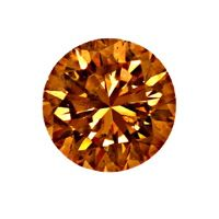 zum Artikel Brillant 0,50ct Natural Fancy Dark Orange Brown SI2 IGI, D6594