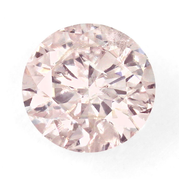 Foto 2 - Pink Natural Color Brilliant 0,93 ct mit IGI Exptertise, D6628