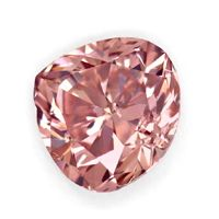 zum Artikel Fancy Intense Brownish PINK 0,335ct Diamant Tropfen DPL, D6668