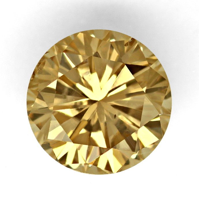 Foto 2, Brilliant IGI 1,03ct Natural Orangy Brown Bronze Cognac, D6676