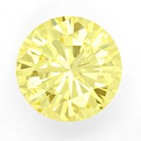 zum Artikel Diamant 1,16 Brilliant Natural Fancy Yellow Zitrone IGI, D6678