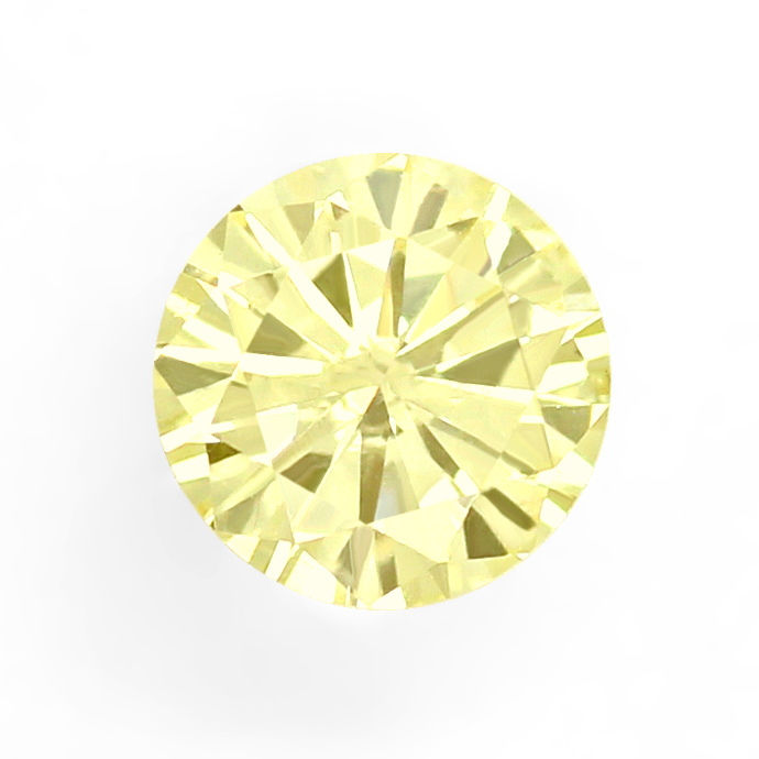 Foto 2 - Diamant 0,33ct Brillant Fancy Yellow VS2 IGI Zertifikat, D6697