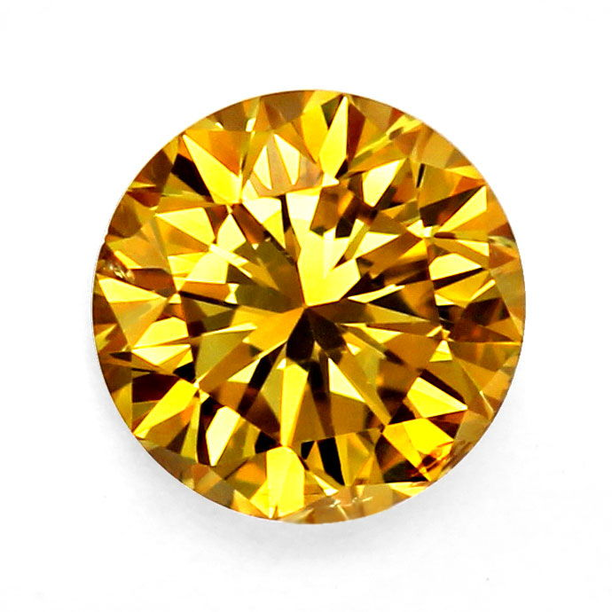 Foto 1, SENSATIONS Fancy Brilliant 0,52ct Br. Orangy Yellow GIA, D6767