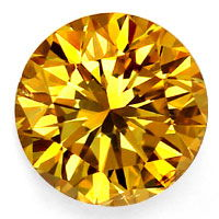 zum Artikel SENSATIONS Fancy Brilliant 0,52ct Br. Orangy Yellow GIA, D6767