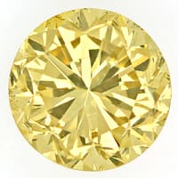 zum Artikel 1,08ct Brillant Spitzen Fancy Greenish Yellow IGI, D6796