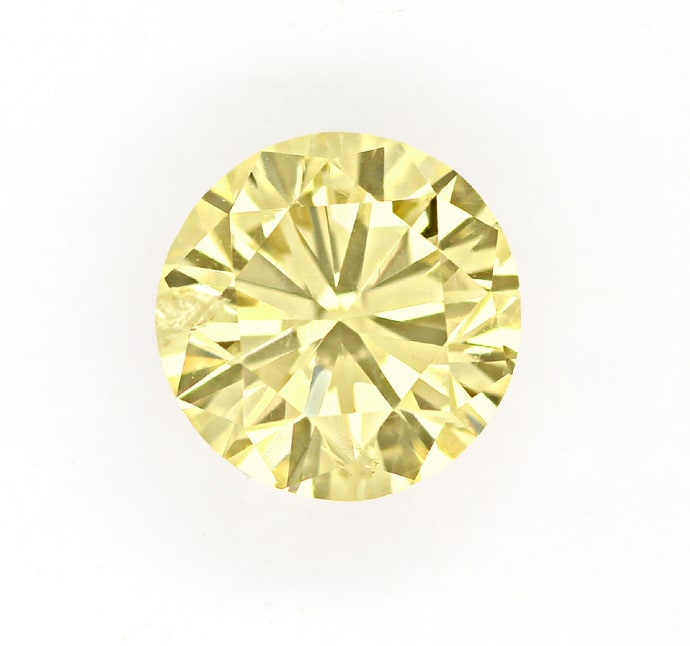 Foto 2, Brillant 1,01ct Super Farbe Brown Yellow IGI Zertifikat, D6797