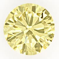 zum Artikel Brillant 1,01ct Super Farbe Brown Yellow IGI Zertifikat, D6797
