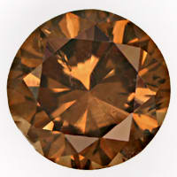 zum Artikel Brilliant 1,25ct sensationell intensiv Fancy Cognac IGI, D6798