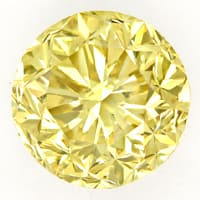 zum Artikel Riesiger 2,05ct Brillant Brownish Yellow IGI Zertifikat, D6799