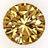 zum Artikel 1,63ct Brillant Spitzen Farbe Fancy Brown IGI Expertise, D6802