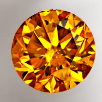 zum Artikel Brillant 0,46ct Deep Orange-Yellow IGI Zertifikat, D6834