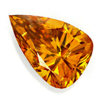 zum Artikel Tropfen Diamant 1,00ct Natural Orange GIA Zertifikat, D6837