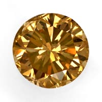 zum Artikel Brillant 0,68ct Fancy Intense Yellowish Brown HRD, D6853