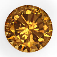 zum Artikel Brillant 0,64ct Fancy Intense Brown SI1 HRD Expertise, D6854