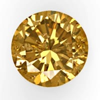 zum Artikel Brillant 0,61ct Fancy Intense Yellowish Brown HRD, D6855