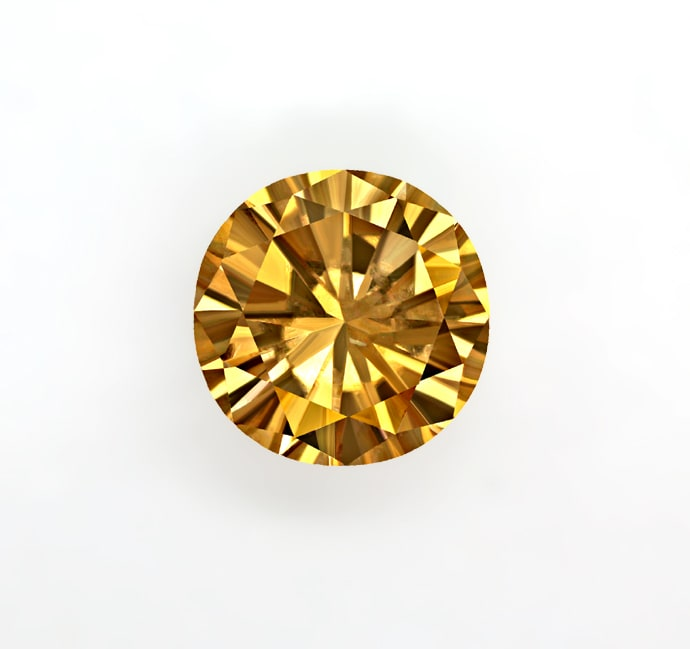 Foto 2 - Brillant 0,52ct Fancy Brown IGI Zertifikat, D6856