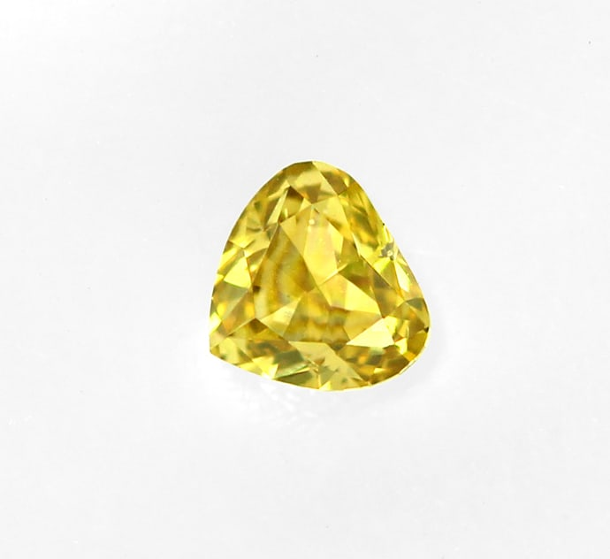Foto 2 - Herz Diamant 0,10ct Fancy Intense gr. Yellow, D6907