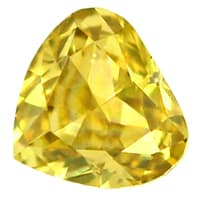 zum Artikel Herz Diamant 0,10ct Fancy Intense gr. Yellow, D6907