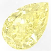 zum Artikel Tropfen Diamant 0,32 Carat in Fancy Yellow, D6908