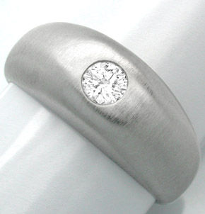 F0657, Typ XH, Gold Diamant Fassung 8,5mm Bandring, Gelbgold Weissgold