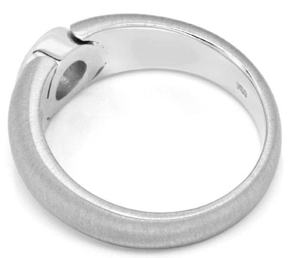 F0878, Typ XK, Diamantfassung Bandring Zarge 7,5mm 0,80ct