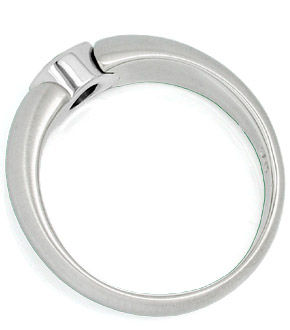 F0879, Typ XG, Bandring Zarge Diamantfassung 6,1mm 0,5ct