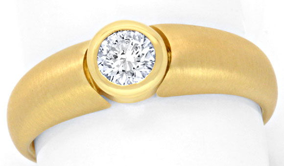 F0879, Typ XX, Bandring Zarge Diamantfassung 6,1mm 0,5ct