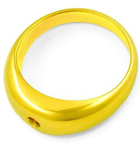 F7885, Typ XB, Gold Diamant Fassung 9,2mm Bandring, Gelbgold Weissgold