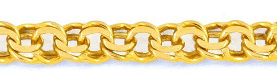 Foto 2, Garibaldi Goldkette, Gelbgold 14K/585 50cm 5,3mm Luxus!, K2002