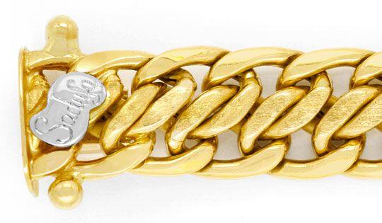 Foto 2, Goldkette Goldkollier 18K Gelbgold Doppel S Luxus! Neu!, K2008