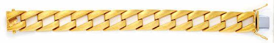 Foto 1, Phantasie Flachpanzer Goldarmband Gestiftet Luxus! Neu!, K2012